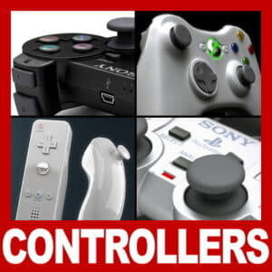 Controllers and Gamepads Pack