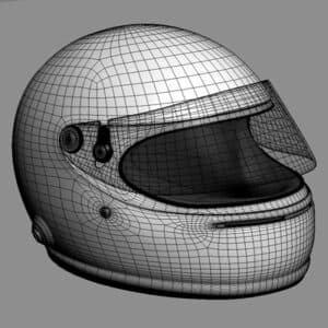 1598 Fernando Alonso 2008 F1 Helmet