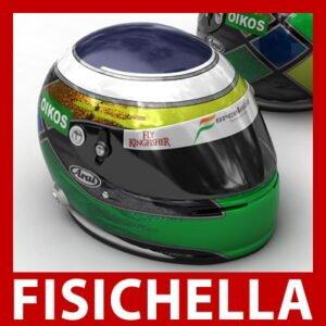 Giancarlo Fisichella New F1 Helmet