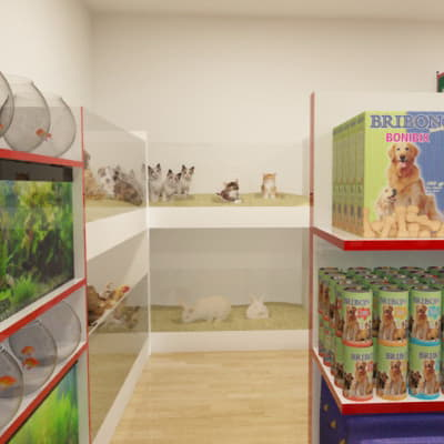 Pet, Animal, Fodder and Feed Shop