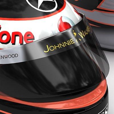 Heikki Kovalainen F1 Helmet
