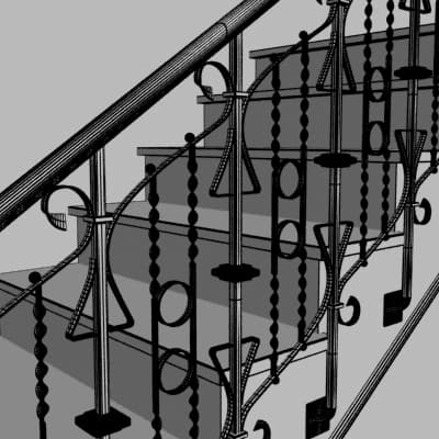 2 Antique Stairs