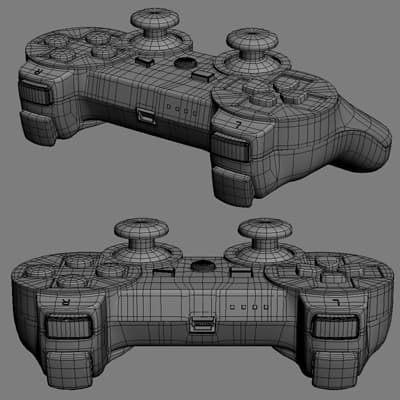 Playstation 3 and Dualshock 3 Controller