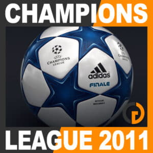2010 2011 UEFA Champions League Finale 11 Match Ball