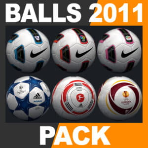 2010 2011 Match Balls Mega Pack