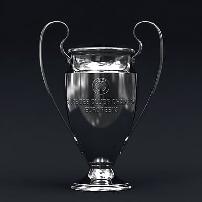 2485 UEFA Champions League Cup Trophy and Finale 11 Match Ball