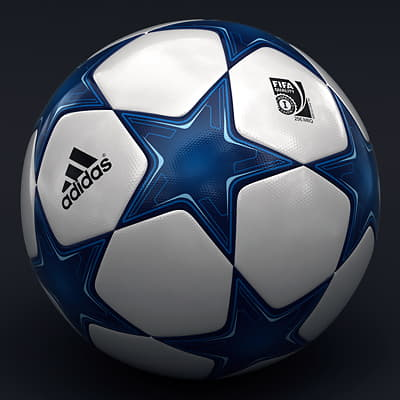 2486 UEFA Champions League Cup Trophy and Finale 11 Match Ball