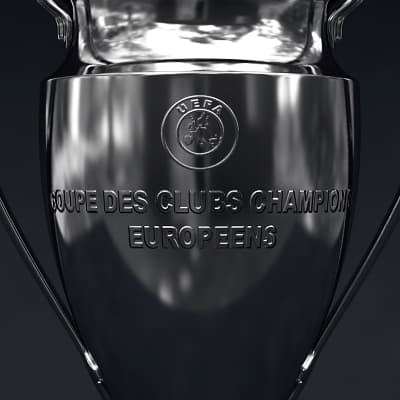 2487 UEFA Champions League Cup Trophy and Finale 11 Match Ball