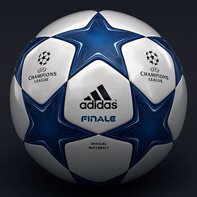 2488 UEFA Champions League Cup Trophy and Finale 11 Match Ball