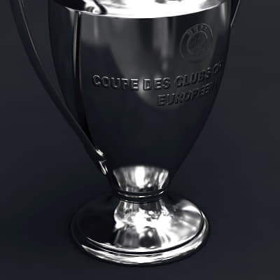 2491 UEFA Champions League Cup Trophy and Finale 11 Match Ball