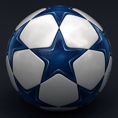 2492 UEFA Champions League Cup Trophy and Finale 11 Match Ball