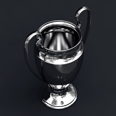 2493 UEFA Champions League Cup Trophy and Finale 11 Match Ball