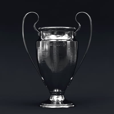 2495 UEFA Champions League Cup Trophy and Finale 11 Match Ball