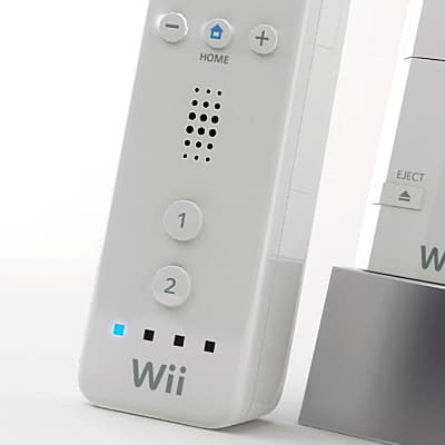 283 Wiimote and Nunchuk Controllers