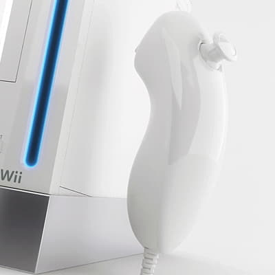 284 Wiimote and Nunchuk Controllers