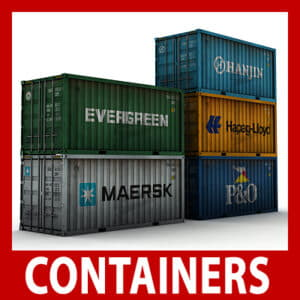 ISO Cargo Containers Pack