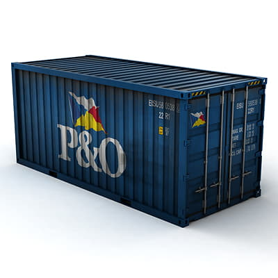 356 ISO Cargo Containers Pack