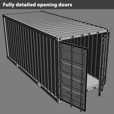 362 ISO Cargo Containers Pack