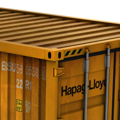 364 ISO Cargo Containers Pack