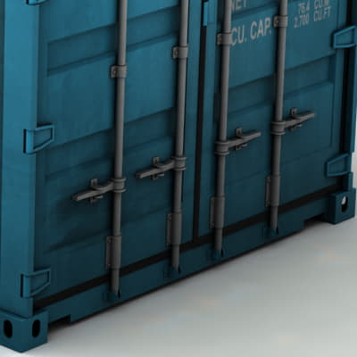 367 ISO Cargo Containers Pack