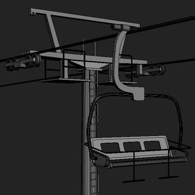 Chair Lift and Tower