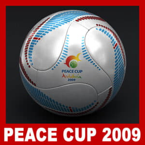 Teamgeist Official Andalucia 2009 Peace Cup Ball