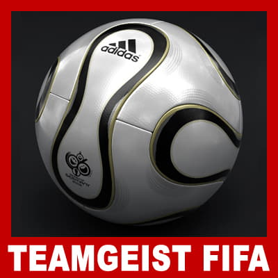 553 Teamgeist Official Germany 2006 FIFA World Cup Ball