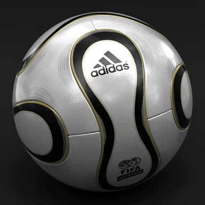 555 Teamgeist Official Germany 2006 FIFA World Cup Ball
