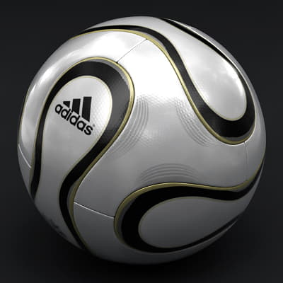 556 Teamgeist Official Germany 2006 FIFA World Cup Ball