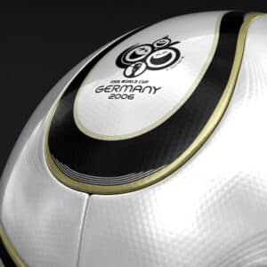 558 Teamgeist Official Germany 2006 FIFA World Cup Ball