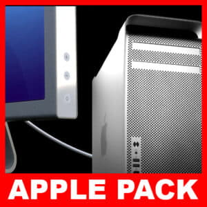 57 Apple Mac Pro and Cinema Display Pack