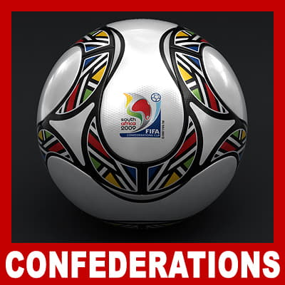 657 Teamgeist Official South Africa 2009 FIFA Confederations Cup Ball