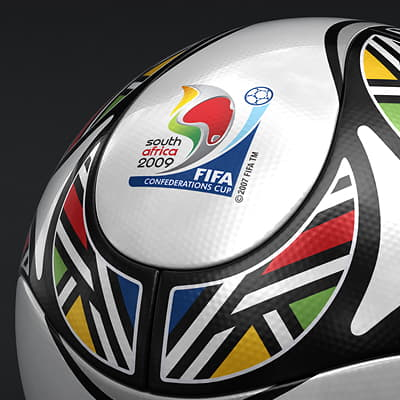 662 Teamgeist Official South Africa 2009 FIFA Confederations Cup Ball