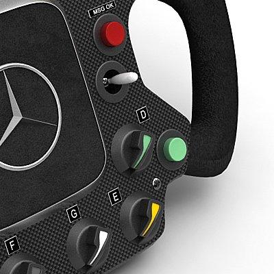 741 2007 F1 McLaren Helmets and Steering Wheel