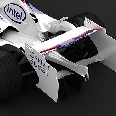 2008 F1 BMW Sauber F1.08