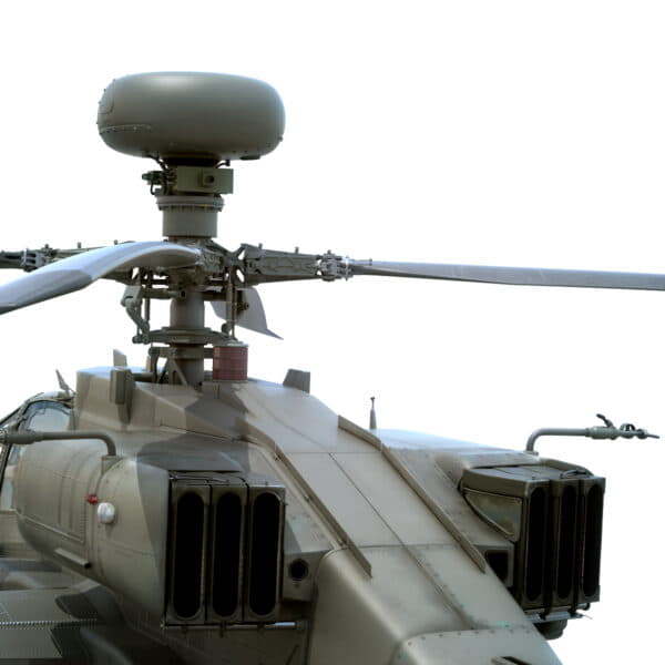 9049 Boeing AH 64D Apache Longbow Helicopter with Cockpit