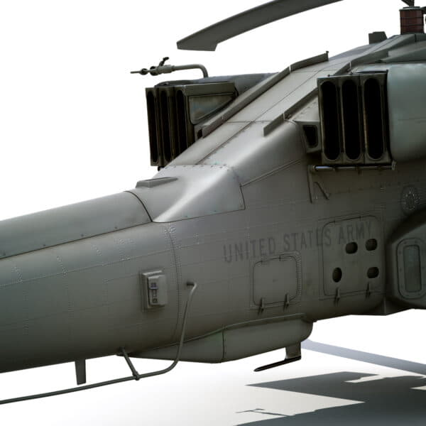 9055 Boeing AH 64D Apache Longbow Helicopter with Cockpit