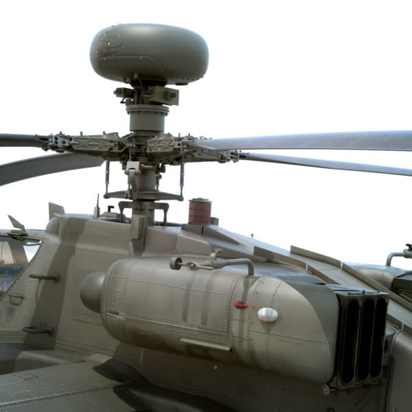 9058 Boeing AH 64D Apache Longbow Helicopter with Cockpit