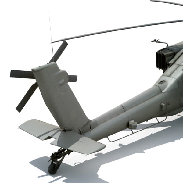 9059 Boeing AH 64D Apache Longbow Helicopter with Cockpit