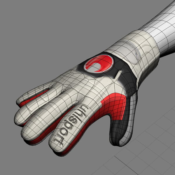 9395 Rigged Football Player and Goalkeeper Real Madrid CF