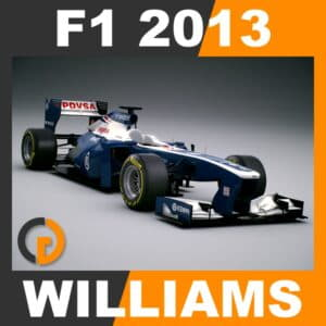 F1 2013 Williams FW35 - Williams F1 Team