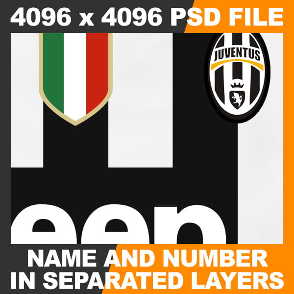 Rigged Football Player and Goalkeeper - Juventus FC
