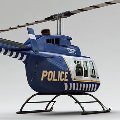 Bell206P th007