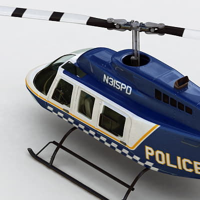 Bell206P th018