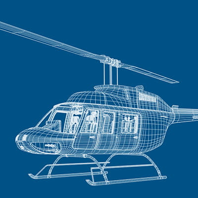 Bell206P th025
