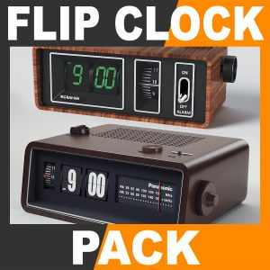 FlipClockPack th001